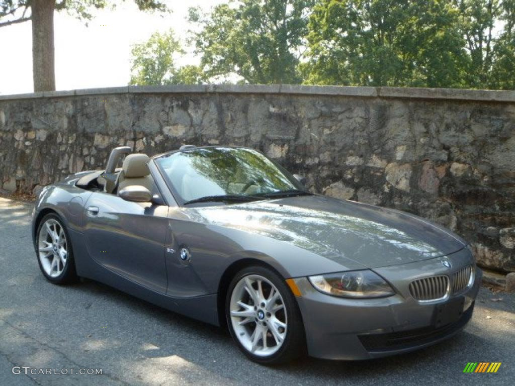 2008 Space Grey Metallic Bmw Z4 3 0i Roadster 36547477