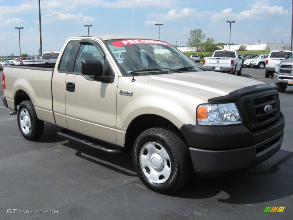 2007 pueblo gold metallic ford f150 xl regular cab 36547811 photo 2 car color. Black Bedroom Furniture Sets. Home Design Ideas
