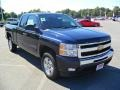 2011 Imperial Blue Metallic Chevrolet Silverado 1500 LT Extended Cab  photo #5