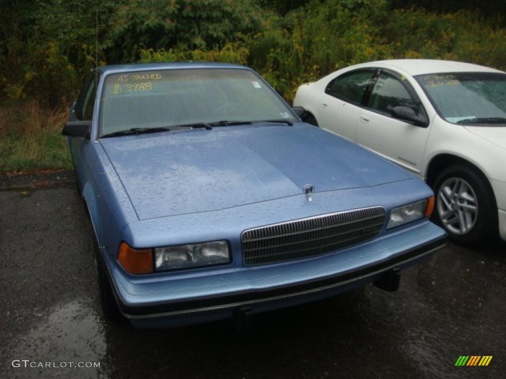 1989 blue metallic buick century coupe 36547546. Black Bedroom Furniture Sets. Home Design Ideas