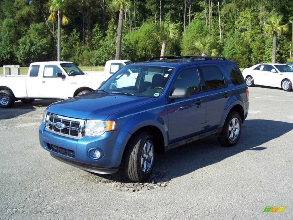 2009 Escape XLT V6 - Sport Blue Metallic / Charcoal photo #1