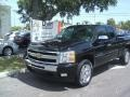 2011 Black Chevrolet Silverado 1500 LT Extended Cab  photo #1