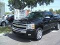 2011 Black Chevrolet Silverado 1500 LT Extended Cab  photo #1
