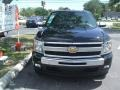2011 Black Chevrolet Silverado 1500 LT Extended Cab  photo #2