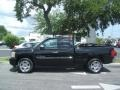 2011 Black Chevrolet Silverado 1500 LT Extended Cab  photo #3