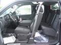 2011 Black Chevrolet Silverado 1500 LT Extended Cab 4x4  photo #10