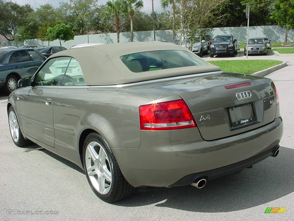 2008 alpaka beige metallic audi a4 2 0t quattro cabriolet. Black Bedroom Furniture Sets. Home Design Ideas