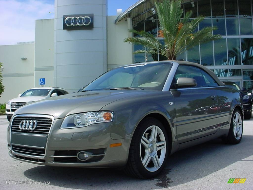 2008 A4 2.0T Cabriolet - Alpaka Beige Metallic / Beige photo #1