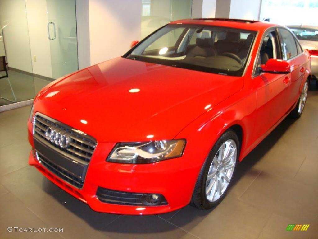 2011 Brilliant Red Audi A4 2.0T quattro Sedan #36621891 ...