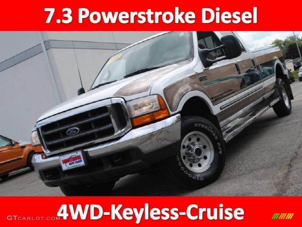 1999 Ford F350 Xl Supercab Super Duty News >> 1999 Oxford White Ford F350 Super Duty XLT SuperCab 4x4 #36622316 | GTCarLot.com - Car Color ...