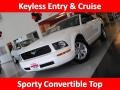 2007 Performance White Ford Mustang V6 Deluxe Convertible  photo #1