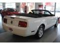 2007 Performance White Ford Mustang V6 Deluxe Convertible  photo #14