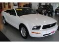 2007 Performance White Ford Mustang V6 Deluxe Convertible  photo #15