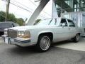 Cotillion White 1989 Cadillac Brougham Sedan