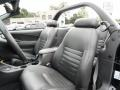2001 Black Ford Mustang GT Convertible  photo #12