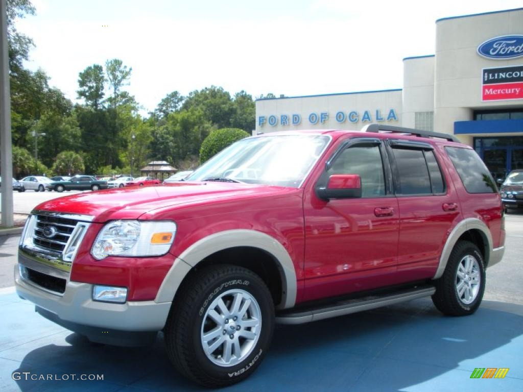 2009 sangria red metallic ford explorer eddie bauer 36622183 car color galleries. Black Bedroom Furniture Sets. Home Design Ideas