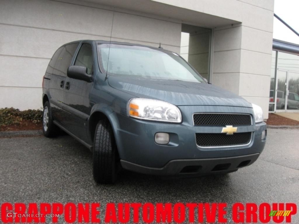 Blue Granite Metallic Chevrolet Uplander
