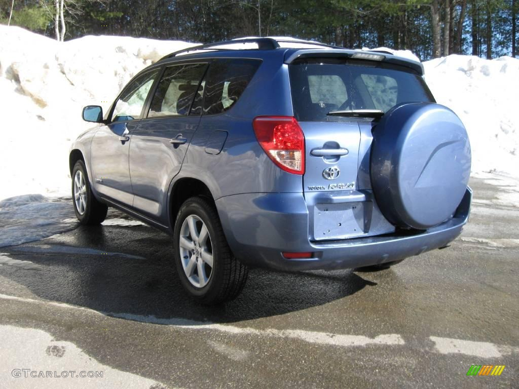 2007 pacific blue metallic toyota rav4 limited 4wd 3665151 photo 10 car color. Black Bedroom Furniture Sets. Home Design Ideas