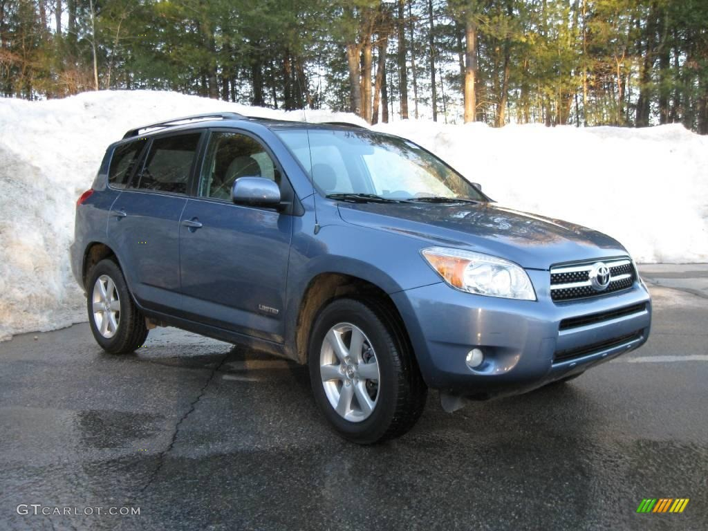 2007 pacific blue metallic toyota rav4 limited 4wd. Black Bedroom Furniture Sets. Home Design Ideas