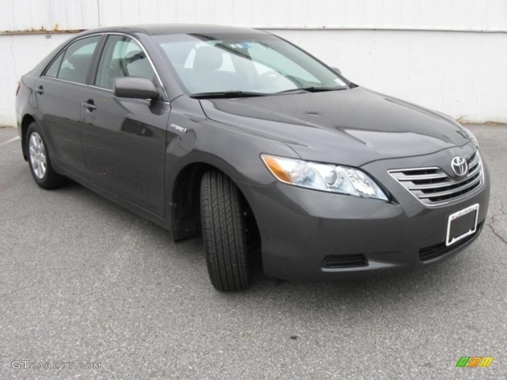 2008 Camry Hybrid Magnetic Gray Metallic Ash Photo 1
