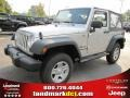 2011 Bright Silver Metallic Jeep Wrangler Sport 4x4  photo #1