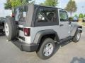 2011 Bright Silver Metallic Jeep Wrangler Sport 4x4  photo #3