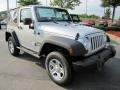 2011 Bright Silver Metallic Jeep Wrangler Sport 4x4  photo #4