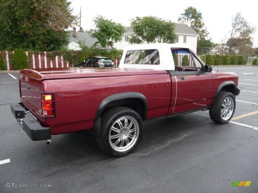 1989 red dodge dakota sport regular cab 4x4 custom convertible truck 36711892 photo 18. Black Bedroom Furniture Sets. Home Design Ideas