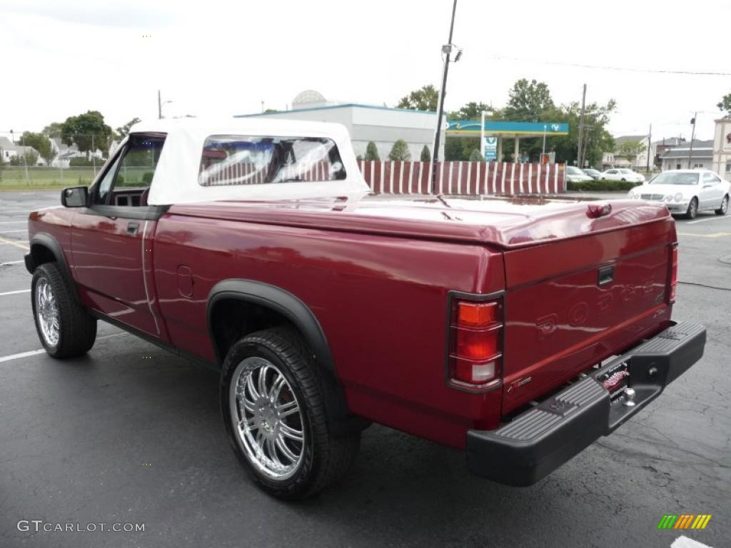 1989 red dodge dakota sport regular cab 4x4 custom convertible truck 36711892 photo 19. Black Bedroom Furniture Sets. Home Design Ideas