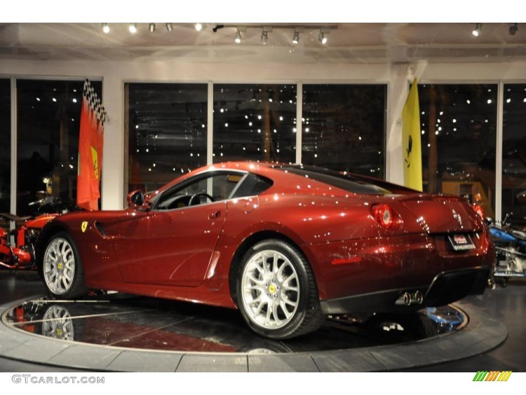 2007 dark red metallic ferrari 599 gtb fiorano f1 36712090 photo 42 gtcarlot com car color