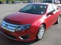 2011 Red Candy Metallic Ford Fusion SEL  photo #2