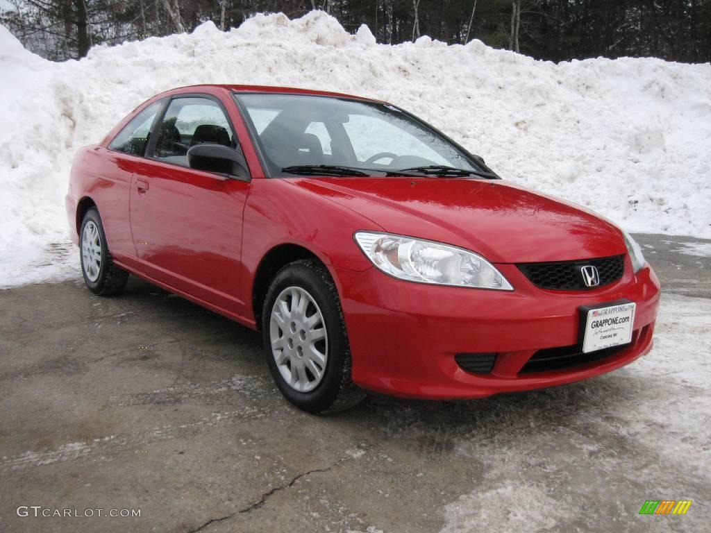 2004 rally red honda civic lx coupe 3665164 gtcarlot. Black Bedroom Furniture Sets. Home Design Ideas