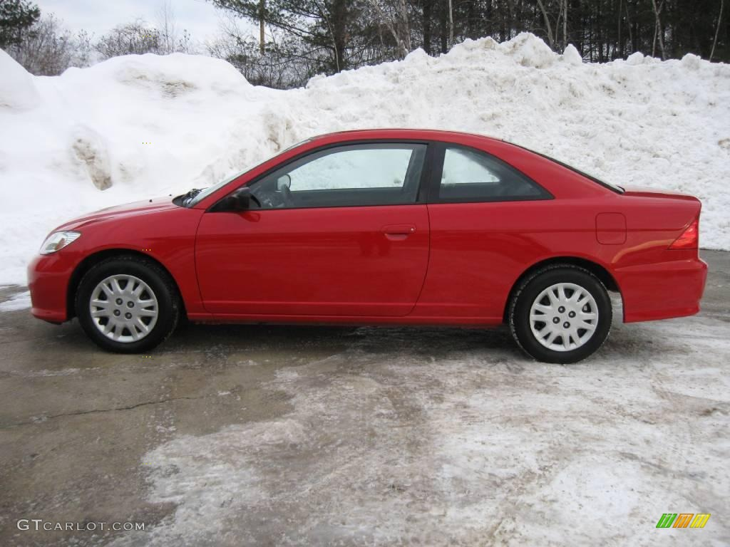 2004 rally red honda civic lx coupe 3665164 photo 3 car color galleries. Black Bedroom Furniture Sets. Home Design Ideas