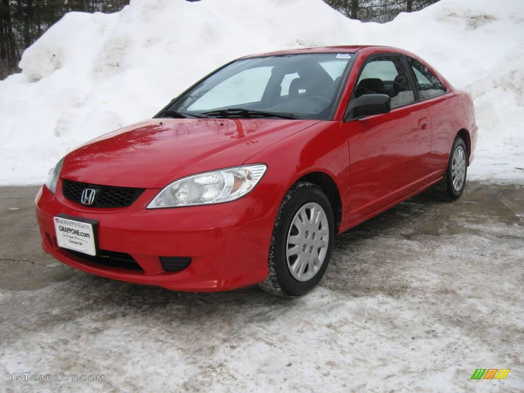 2004 rally red honda civic lx coupe 3665164 photo 5 car color galleries. Black Bedroom Furniture Sets. Home Design Ideas
