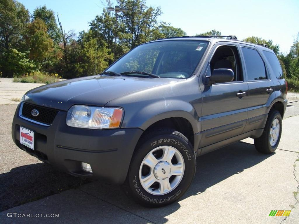 2003 dark shadow grey metallic ford escape xlt v6. Black Bedroom Furniture Sets. Home Design Ideas