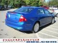2011 Blue Flame Metallic Ford Fusion SE  photo #6