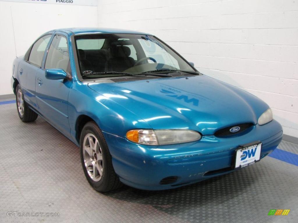 1996 bright blue metallic ford contour gl 36767480 gtcarlot com car color galleries gtcarlot com