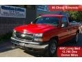 2006 Victory Red Chevrolet Silverado 1500 Work Truck Regular Cab 4x4  photo #1