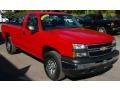 2006 Victory Red Chevrolet Silverado 1500 Work Truck Regular Cab 4x4  photo #4