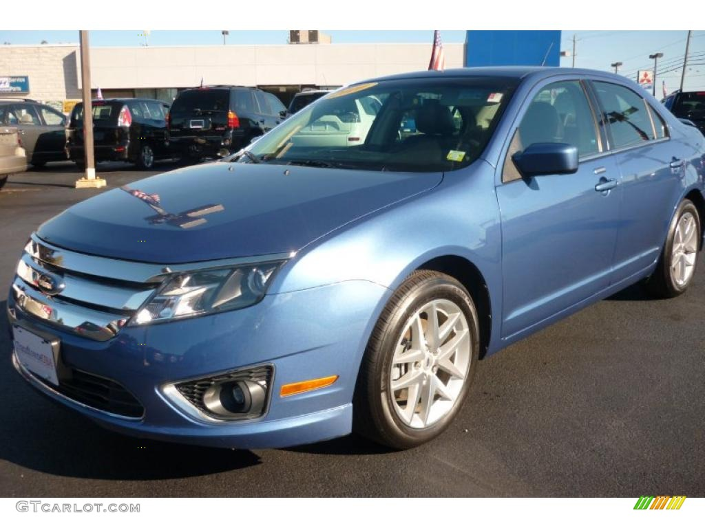 2010 sport blue metallic ford fusion sel 36817393 car color galleries. Black Bedroom Furniture Sets. Home Design Ideas