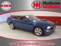 2007 Vista Blue Metallic Ford Mustang GT Premium Convertible  photo #1