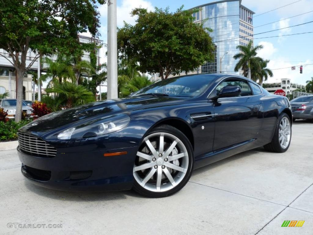 2006 Midnight Blue Aston Martin DB9 Coupe #36856440 ...