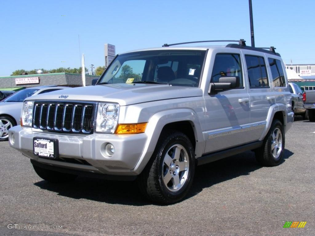 2010 Bright Silver Metallic Jeep Commander Sport 4x4 36857127 Car Color Galleries