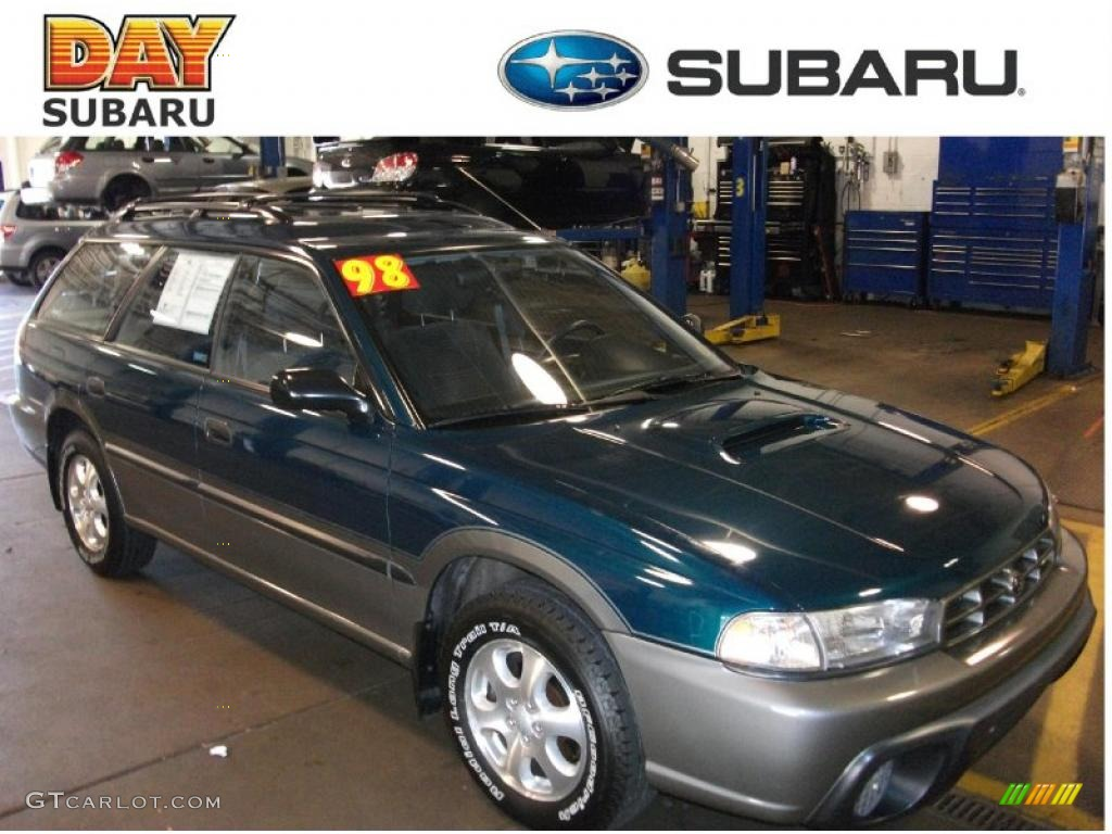 1998 spruce pearl metallic subaru legacy outback wagon 36856466 gtcarlot com car color galleries gtcarlot com