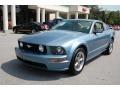 2006 Windveil Blue Metallic Ford Mustang GT Premium Coupe  photo #12