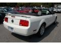 2006 Performance White Ford Mustang V6 Deluxe Convertible  photo #18