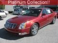 Crystal Red Tintcoat 2010 Cadillac DTS Platinum