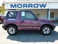Super Grape Metallic 1997 Geo Tracker Soft Top 4x4