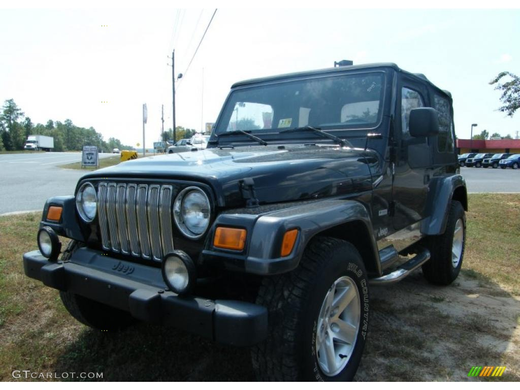 2004 black jeep wrangler columbia edition 4x4 36856538 car color galleries. Black Bedroom Furniture Sets. Home Design Ideas