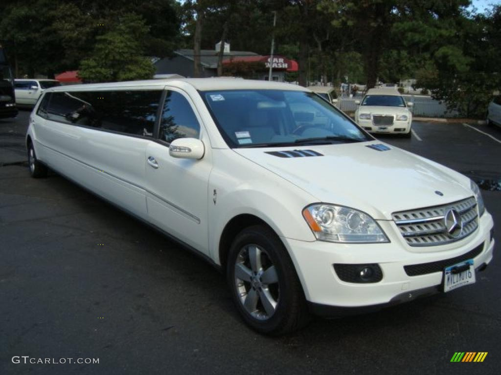 2006 alabaster white mercedes benz ml 500 4matic limousine for Mercedes benz ml 500